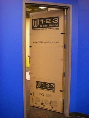 Reusable Door Protection 1-2-3 Door Shield 3/0 x 7/0 5 pack