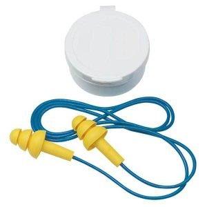3M Reusable Corded Earplugs 25db