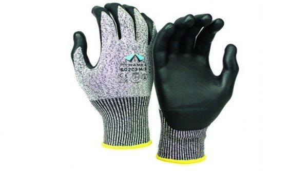 Pyramex Corxcel Glove GL602C3 Series Light Grey Back & Black Palm
