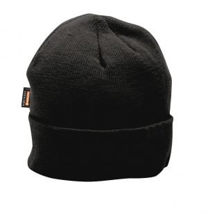 JSP Insulated Knit Cap Insulatex Lined Black