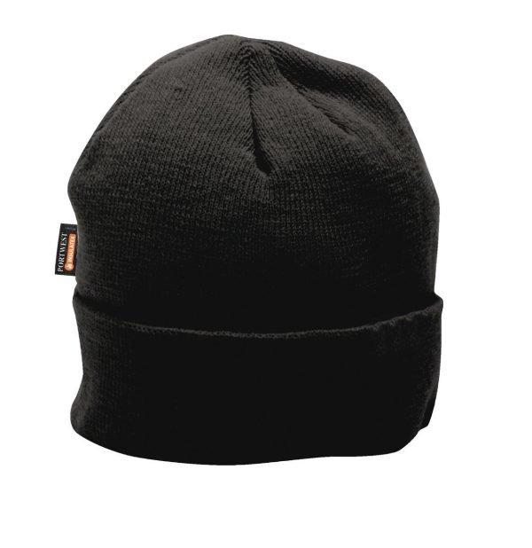 JSP Insulated Knit Cap Insulatex Lined Black