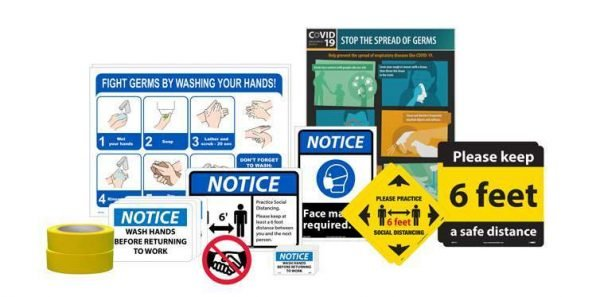 Back to Work Signage Kit (Small)