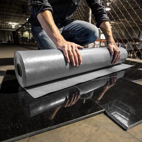 "Cover Shield Floor Protection 36"" x 186' Fire Retardant"