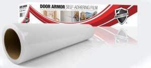 "Door Armor - 6"" x 150' Roll of Clear Self Adhesive Film - DA106150"
