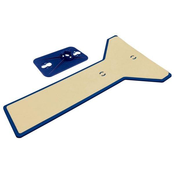 ZipWall Edge™ Head and Skid Plate - EPH1