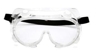 Pyramex G204 Clear Chemical Glasses