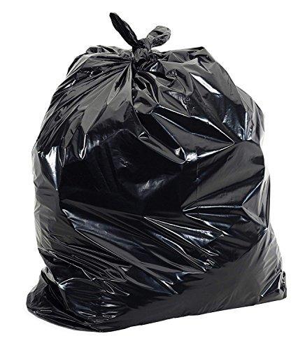 JSP Heavy Duty Black Contractor Bags 3 Mil (20 Per Box)