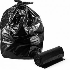 JSP Heavy Duty Black Contractor Bags 3 Mil (20 Per Box)