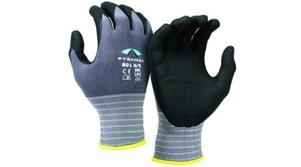 Pyramex Corxcel Glove GL601 Series Light Purple Back & Black Palm