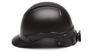Pyramex RIDGELINE Graphite Cap Style 4-Point Standard Ratchet Hard Hat