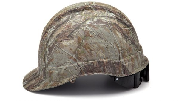 Pyramex RIDGELINE Matte Camo Cap Style 4-Point Standard Ratchet Hard Hat