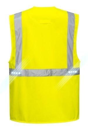 JSP Orion Led Executive Vest Yellow