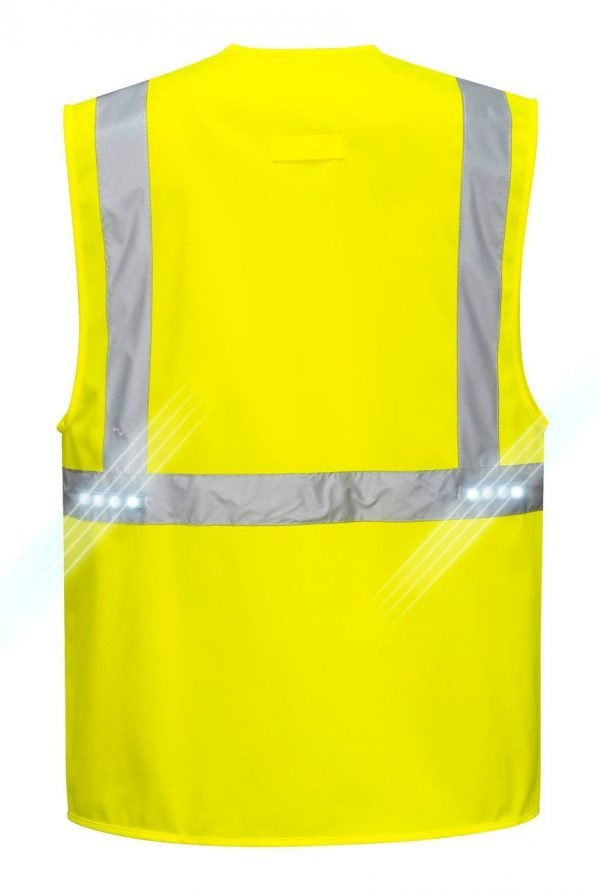 JSP Orion Led Executive Vest Yellow