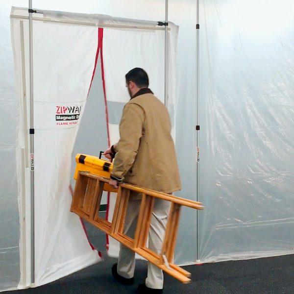 ZipWall Magnetic Dust Barrier Door - MDK