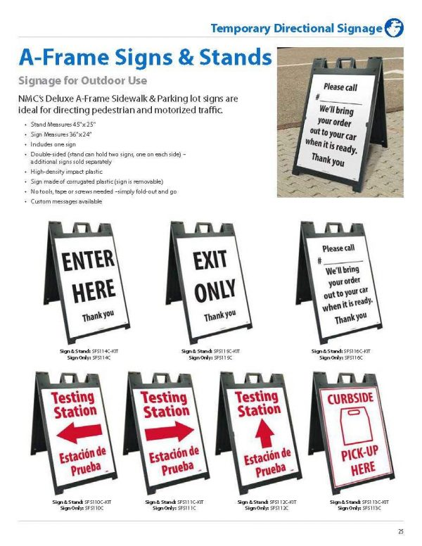 Back to Work Signage (Made to Order)