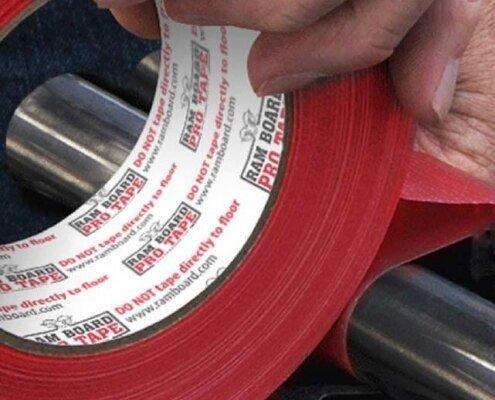 """Ram Board 2.5"""" x 180' Pro Red Tape"""