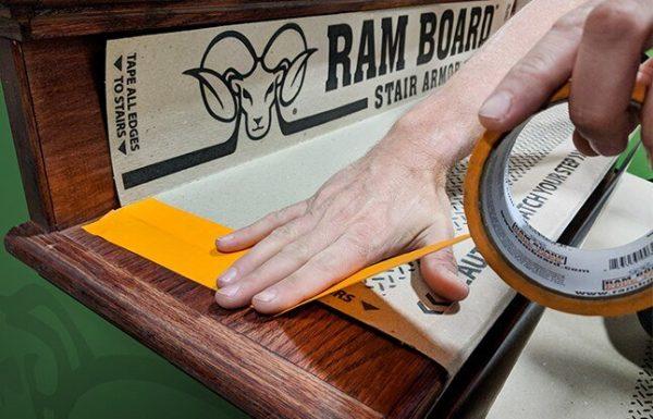 """Ram Board 34"""" x 19"""" Stair Armor (12 Stair Protectors)"""