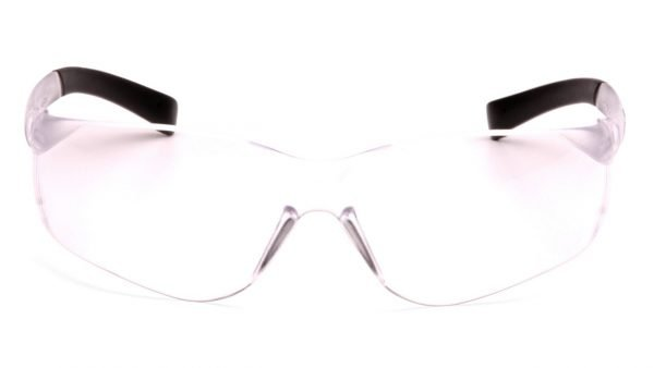 Pyramex ZTEK Safety Glasses with Clear Frame and Clear Lens