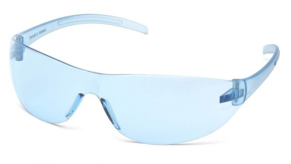 Pyramex Alair Infinity Safety Glasses With Blue Frame and Blue Lens