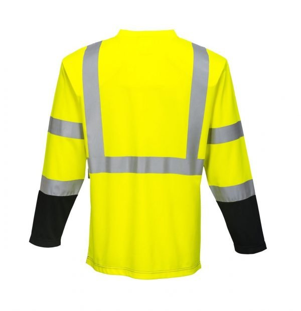 JSP Laguna Long Sleeve T-Shirt Yellow / Black