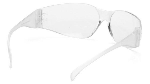 Pyramex INTRUDER READERS Clear Temples with Clear +1.5 Magnification Lens