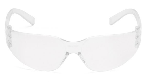 Pyramex INTRUDER Safety Glasses with Clear Frame and Clear Lens