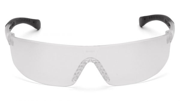 Pyramex PROVOQ Safety Glasses with Clear Frame and Clear Lens