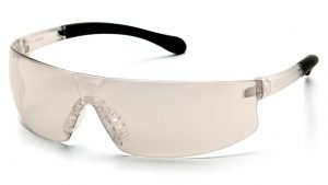 Pyramex PROVOQ Indoor / Outdoor Safety Glasses with Black/Clear Frames and Clear Lens