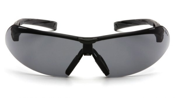 Pyramex Onix Safety Glasses with Black & Gray Frame and Gray Lens