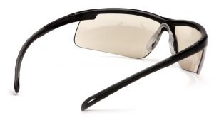 Pyramex EVER-LITE Anti-fog Safety Glasses with Black Frame and Clear Lens