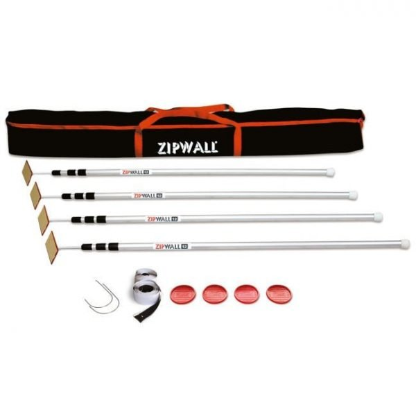 ZipWall 4 Pack Plus - SLP4
