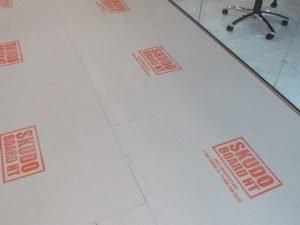 Skudo Skudoboard Rigid Protection Board 4' x 4' HT Interlock Fabric Grey