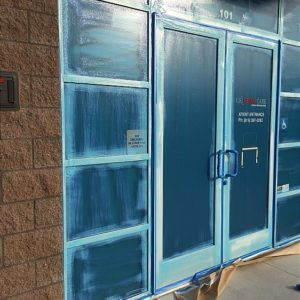 Skudo Temporary Window Protection Glass Advanced 5 Gallon Pail