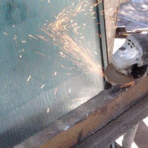 Skudo Temporary Window Protection Glass Advanced 242 Gallon IBC