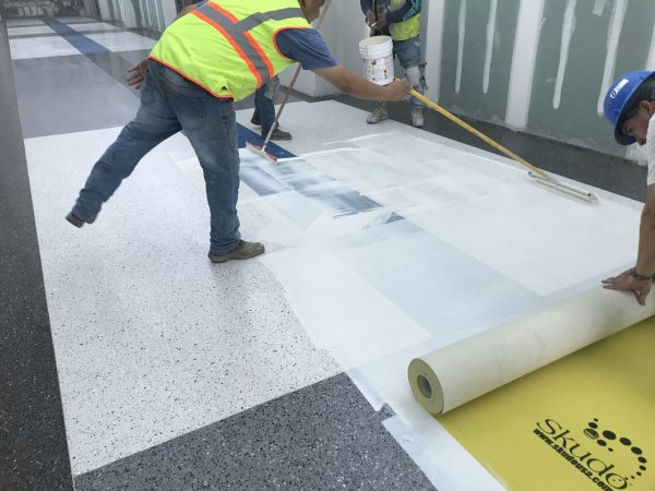 Skudo Temporary Surface Protection Medium Traffic Commercial Mat