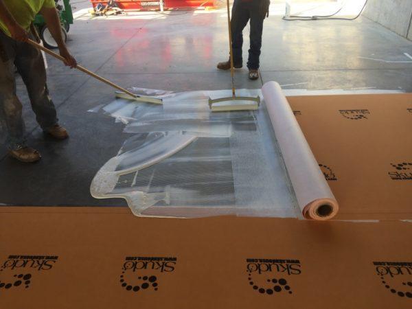 Skudo Concrete Base Coat IBC for Surface Protection Mat