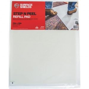 Refill Sheets for Customized Peel & Stick Mat With Your Logo 4 Pack