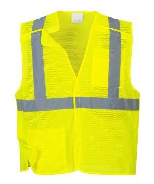 JSP Economy Mesh Break-Away Vest Yellow
