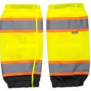 JSP Hi-Vis Two Tone Gaiters Yellow / Black