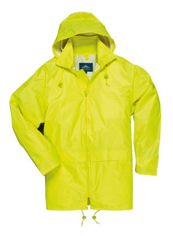 JSP Classic Rain Jacket Yellow