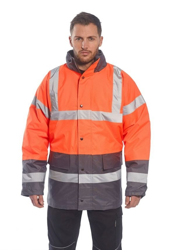 JSP Twotone Traffic Jacket Orange / Black