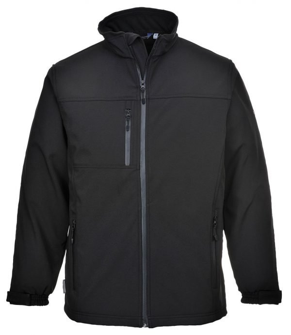 JSP Softshell Jacket Black