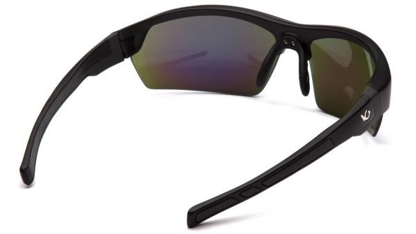 Pyramex TENSAW Polarized Glasses with Black Frame and Green Lens