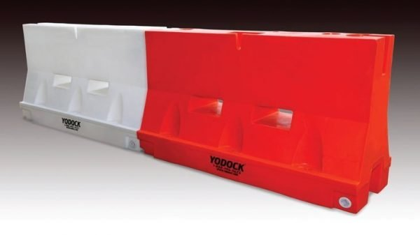 "Yodock 2001 6' X 24"" X 46"" Barricade 130lb White"