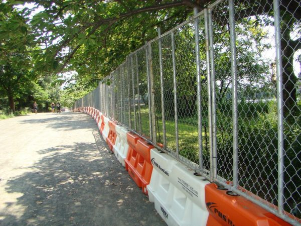 """Yodock 118765B 6' X 96"""" X 4.5"""" Fence Panel (For Use With 2001MB)"""