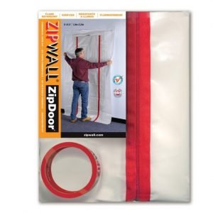 ZipWall ZipDoor Commercial Doorway Kit - ZDC