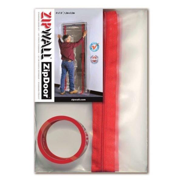ZipWall ZipDoor Standard Doorway Kit - ZDS