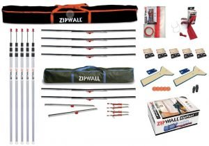 ZipWall Dust Barrier ToolKit - ZWTK