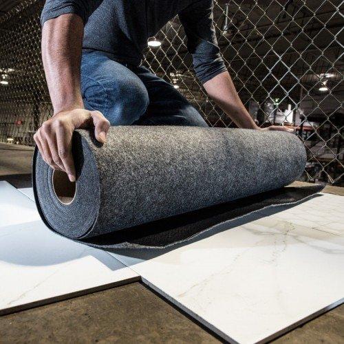 "Pro Shield 36"" x 100' Reusable Floor Protection"