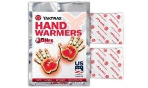 Yaktrax Adhesive Hand Warmers 2pc